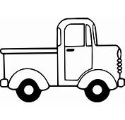 Minicab Truck Side View Coloring Page  Wecoloringpage