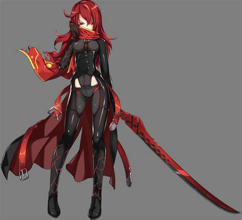 elsword anime tube bodysuit elesis elsword sword tagme transparent pn