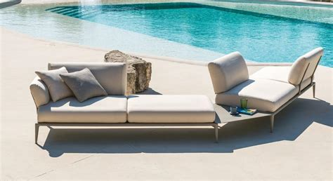 swimming pool sofa modular sofa for swimming pool with coffee table idfdesign