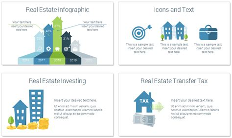 Real Estate Powerpoint Template Presentationdeck Com Real Estate Powerpoint Template