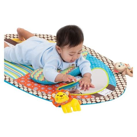Infantino Tummy Time Mat by Infantino Go Gaga Tummy Time Mat Theshopville Baby