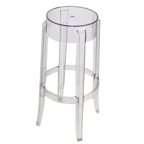 Clear Acrylic Bar Stool Acrylic Bar Stool Clear Modern In Designs