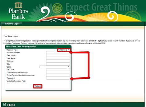 planters bank online banking login cc bank