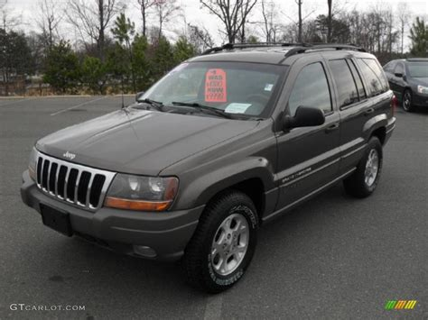 2000 taupe metallic jeep grand laredo 4x4 46038708 gtcarlot car color