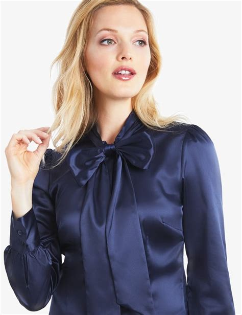 Blouse Katun C Bow 90 best satin bow blouse images on bow blouse satin blouses and satin bows