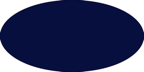 Oblong Nevy navy oval