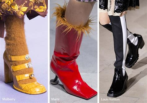 Fall Shoe Trends by Shoes Fall Winter 2017 Style Guru Fashion Glitz