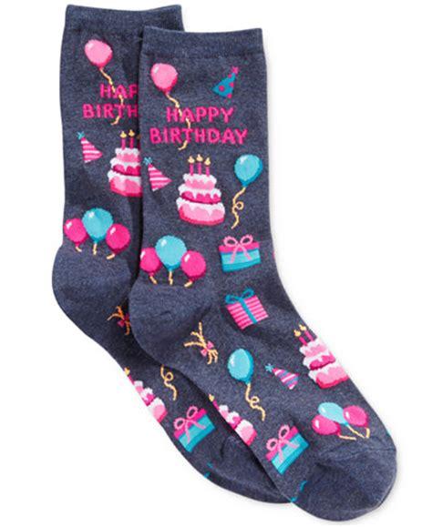 The Birthday Sock by Sox S Happy Birthday Socks Handbags