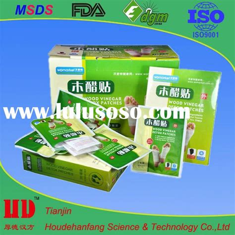 Detox Pads Wood Bamboo Vinegar by Wood Vinegar Wood Vinegar Manufacturers In Lulusoso