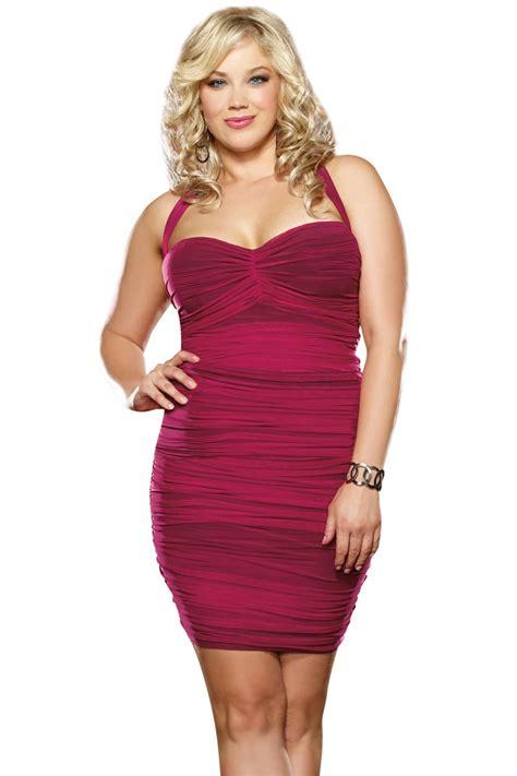 Dress Vintagesexy Dressmini Dressdress plus size ruched mini dress
