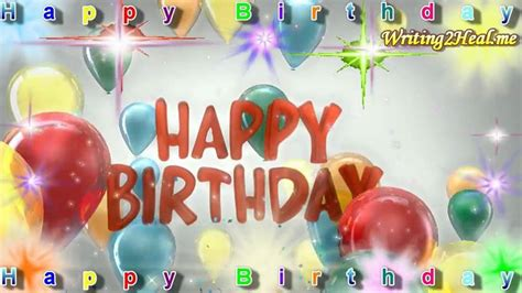 Animated Happy Birthday Wishes 4 U Animated Birthday Wishes Videos Download