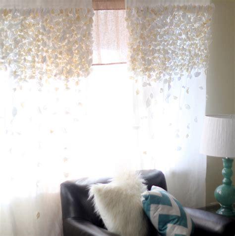 flutter curtains anthropologie knock off flutter curtains sytycs week 2