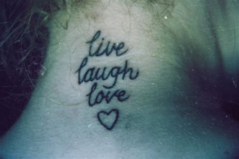 27 cool live laugh love tattoos pictures wpjournals