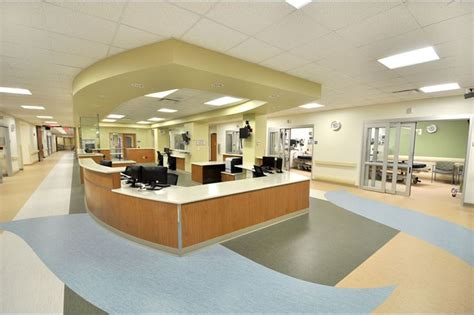 ellis emergency room summa barberton hospital emergencydepartment nurses station hasenstab architects