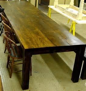 farm table custom built modern style dining by