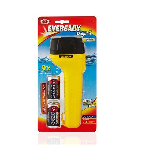 Battery Bb Torch energizer eveready mini dolphin torch with batteries