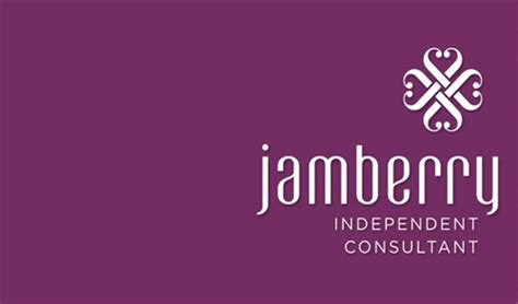 jamberry business card design 2