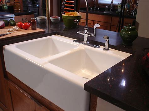 How To Install An Apron Kitchen Sink How To Install An Apron Front Sink How Tos Diy