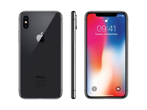 Iphone Apple smartphones apple iphone x apple iphone x 256gb space gray