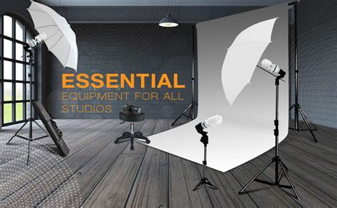 photography lighting equipment for beginners photography photo portrait studio 600w day light umbrella