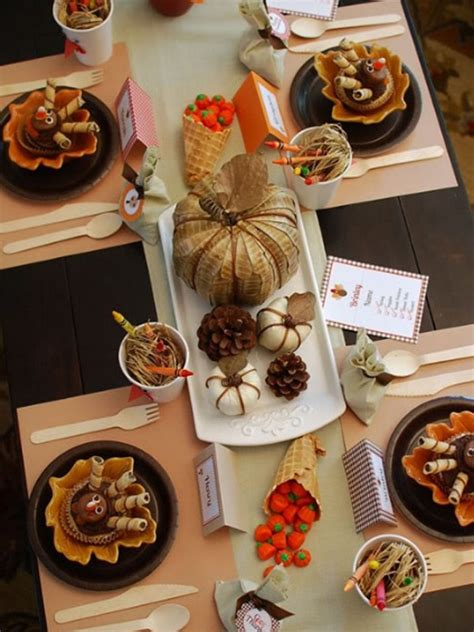 7 Gorgeous Thanksgiving Decor Items by Gorgeous And Awesome Thanksgiving Table Setting Ideas