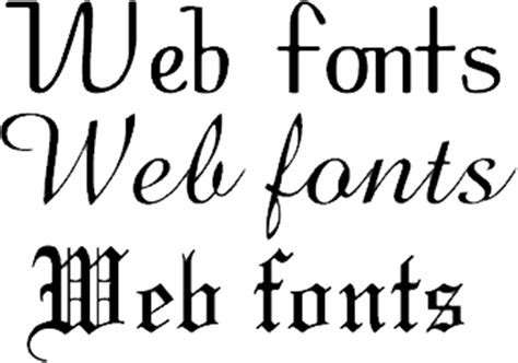 typography for the web web typography