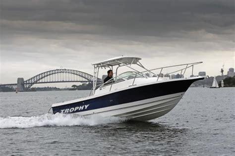 sea hunt boats net worth trophy 2152 diesel review trade boats australia