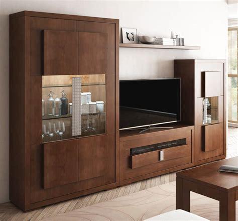 imagenes de muebles mobiliario de sal 243 n con vitrina 2 puertas y mueble de tv
