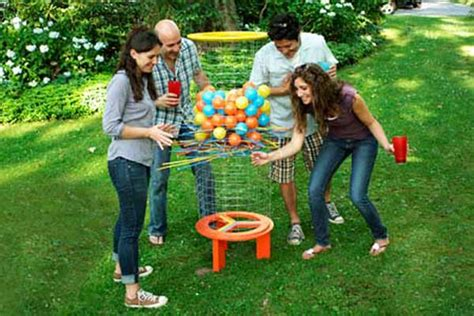 backyard kerplunk game leading 34 exciting diy backyard games and activities