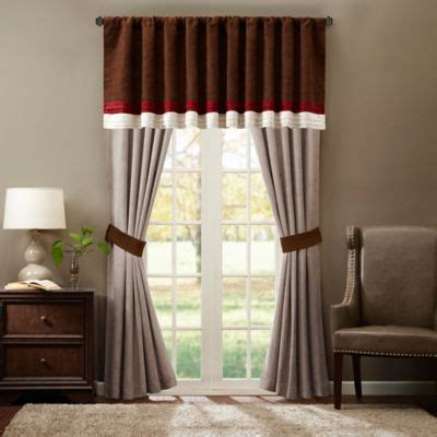 curtain for bedroom windows buy bedroom window curtains from bed bath beyond