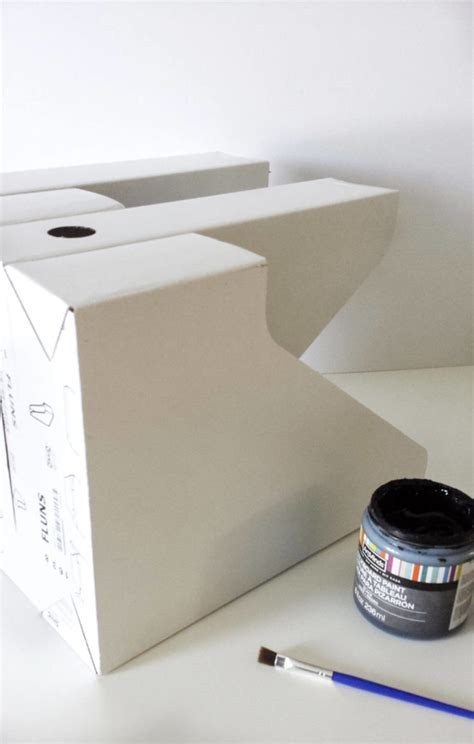 chalk paint ikea learn how to ikea hack paper organizer diy