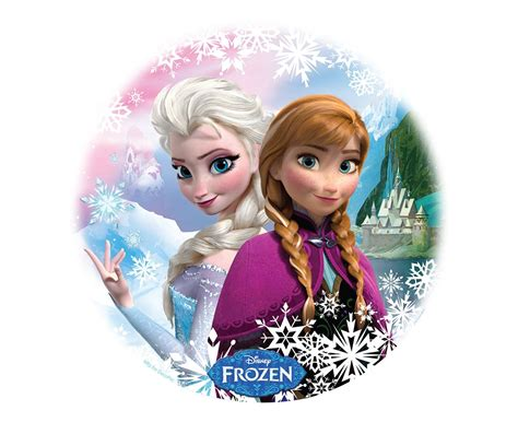 frozen sisters edible image cakescom recipes pinterest sisters products  frozen