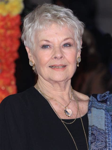 how to cut hair like judy dench 17 best images about fashion style on pinterest for