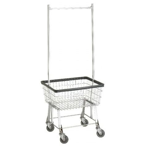 Laundry Cart With Hanging Rack by Rolling Laundry Basket Hanging Rack Cynthia