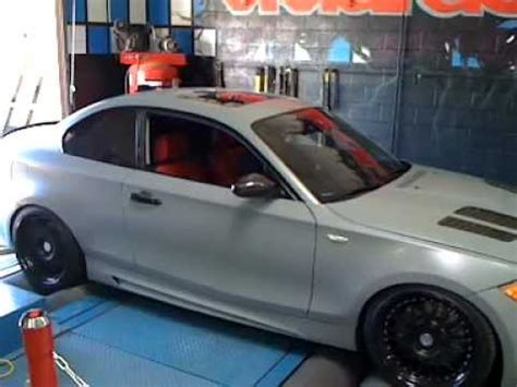 bmw 135i dyno tuning with 400hp hre wheels agency power