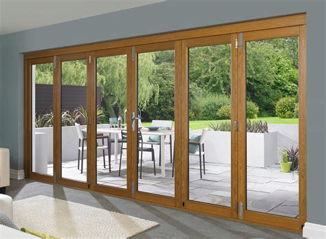 Folding Patio Door Types Of Bifold Doors And Their Differences Interior Exterior Doors Design