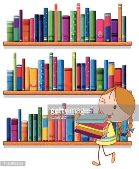 library clipart fille 192 la biblioth 232 que images vectorielles