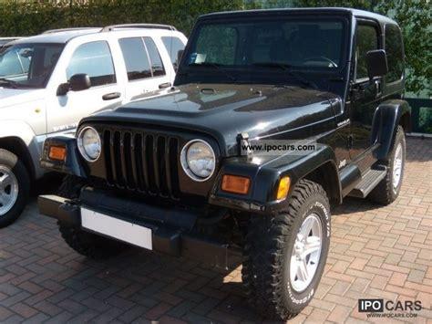 Jeep 4 0 Horsepower 2002 Jeep Cat Wrangler 4 0 Car Photo And Specs