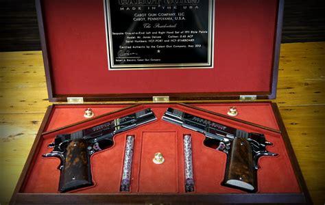 cabot gun mirror image pistol sets