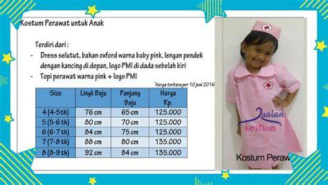 Baju Chef List Merah By Jj tisha shop baju profesi anak kostum profesi anak