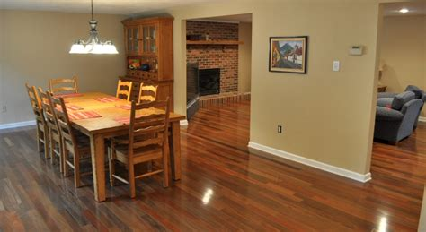 flooring for dining room walnut pictures one project closer