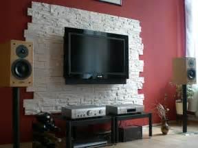steinwand wohnzimmer led 2 funvit verblender wohnzimmer grau