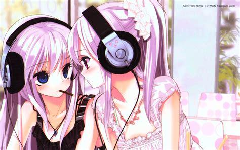 with headphones anime with headphones