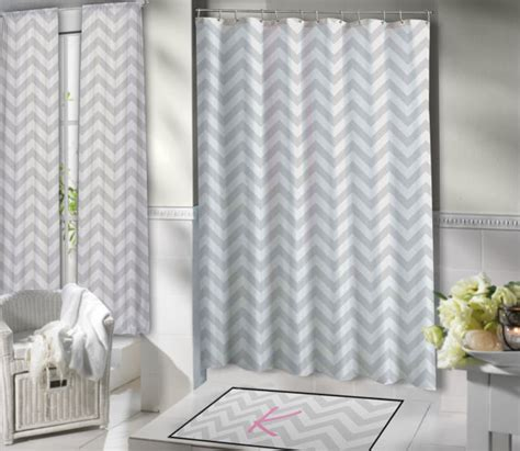 custom shower curtains extra long items similar to chevron shower curtain extra long shower