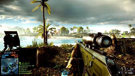 bf4 you play battlefield 4 sniping gameplay multiplayer sniper bf4 play conquest paracel