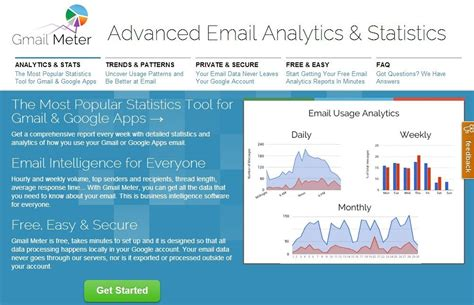 gmail analytics website to generate statistics for your gmail