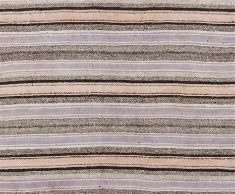 flat woven cotton rug striped cotton and wool anatolian kilim flat woven rug for sale at 1stdibs