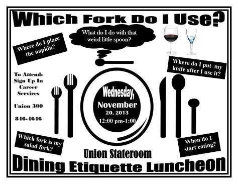 which fork do i use etiquette luncheon news and events
