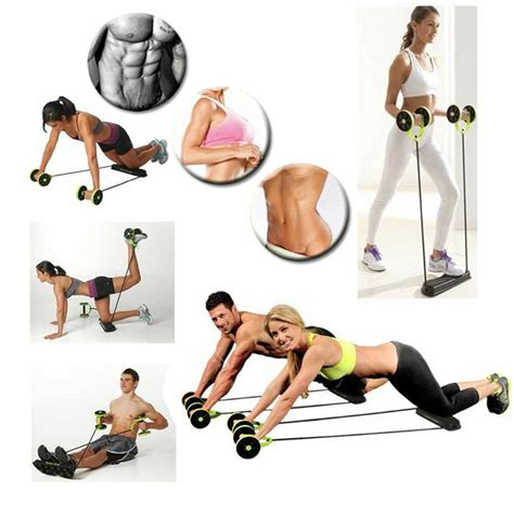 revoflex xtreme total fitness abdominal resistance exercise abs trainer ebay