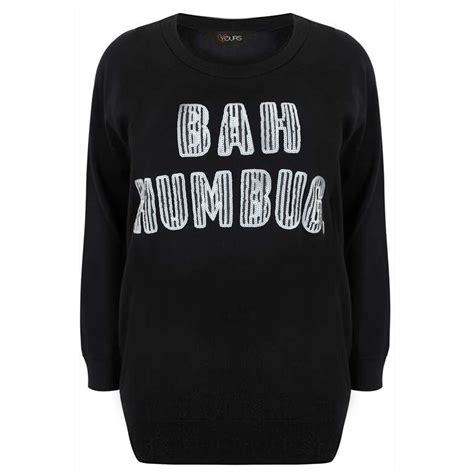 bah humbug pug sweater plus size jumpers this is meagan kerr